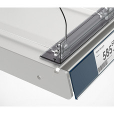 Ограничитель передний пластиковый высотой 30 мм с Т-профилем на магнитной ленте