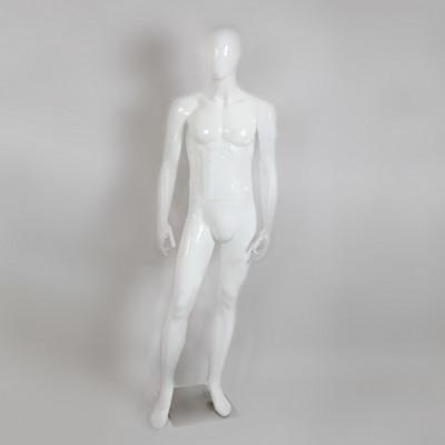 Глянцевый манекен мужской без лица, B105SB-1