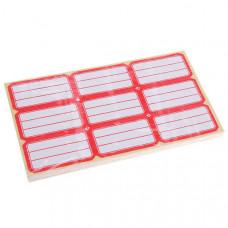 Набор ценники 34*65мм самоклеящиеся 60 листов  (1 лист = 9шт), SApr-n60-9*34*65
