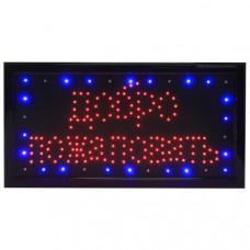 """Вывеска светодиодная LED """"Добро пожаловать"""", V-Led-1"""