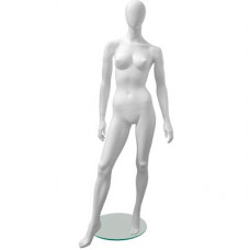 Манекен женский Glance Matte 05 ,белый