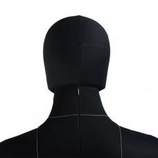 Голова к манекену Monica на магните (черный), PM-Monica-bhead