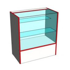 Прилавок (2 стеклянные полки), Standart4