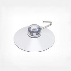 Присоска силиконовая с металлическим крючком, SC30-MH