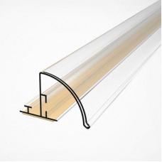 Закругленный полочный профиль (вставка H=30 мм), PRO30