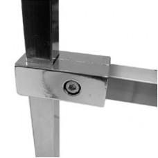 Соединитель для трубы 25*25 мм, PR-011
