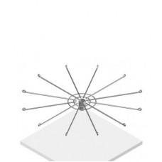 Стенд на 126 крючков 12 рядов крючков (L=50мм), T6-01