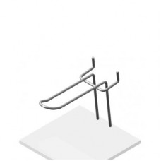 Крючок язычковый на перфорацию, К.П.02(9006)