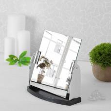 Зеркало настольное (прямоугольное 18*17*2 см), ZN-004