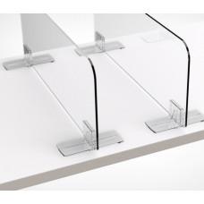 Клипса Т-образная для крепления пластиковых разделителей