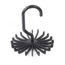 Вешалка для ремней 11×11×10 см, 20 крючков