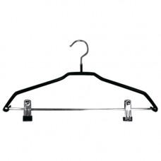 Металлические вешалки-плечики с прищепками, WS 030-40