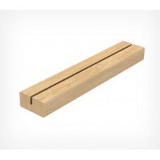 Подставка под меловые таблички А4 деревянная