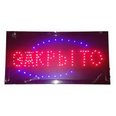 """Вывеска светодиодная LED """"Открыто-закрыто"""", 220V"""