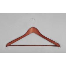 Вешалка(плечики) для одежды деревянная C30N(красн)
