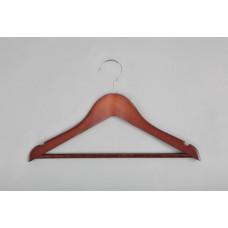 Вешалка(плечики) для детской одежды деревянная C30N-34(красн)