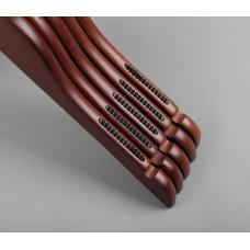 Вешалка(плечики) для одежды деревянная C31(красн/черн)