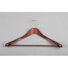Вешалка(плечики) для одежды деревянная C30-5D(красн)