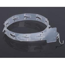 Стрип лента с подвесом L=63.5 см, 12 крючков, цвет прозрачный