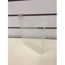 Объёмный карман половинчатый ПЭТ 0,75мм