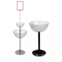 Накопители с чашами из пластика