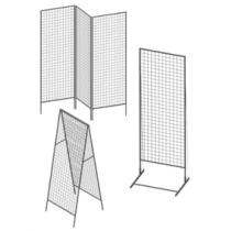 Сетчатые модули и стойки-решетки