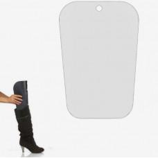Вставка в обувь 24*24 см, цвет матовый прозрачный