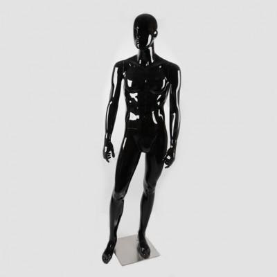 Глянцевый манекен мужской с лицом В105SB