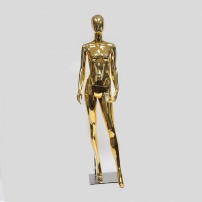Глянцевый манекен женский ростовой для одежды RKAB1-G