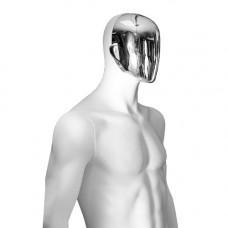 Манекен мужской со сменным лицом / M-04