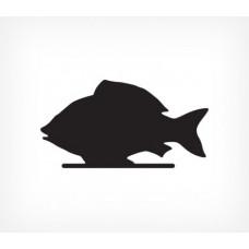 Меловая табличка «Рыба»