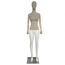 Женский манекен с подвижным торсом F-01
