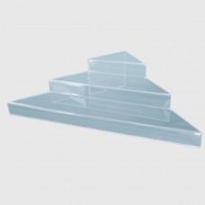 Лесенка трехъярусная угловая (3 ступени 30*70)