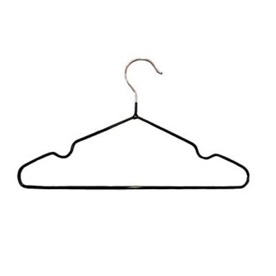 Вешалка-плечики для одежды (детская, обрезиненная), A01CH