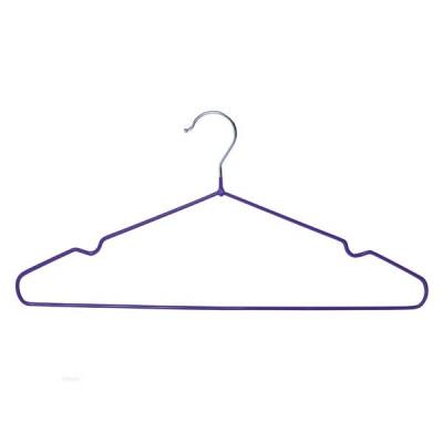 Виниловые плечики антискользящие для одежды, A04XL