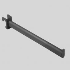 Кронштейн для овальной трубы прямой, черный U-305N