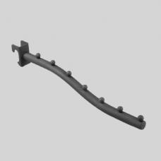 Кронштейн для овальной трубы, 7 шариков U8501N