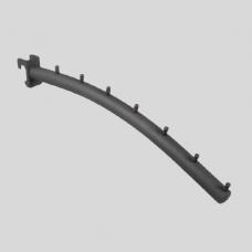 """Кронштейн для овальной трубы, """"Банан"""" 7 штырьков, U-304N"""