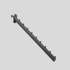 Кронштейн для овальной трубы наклонной, 9 штырьков U7299N