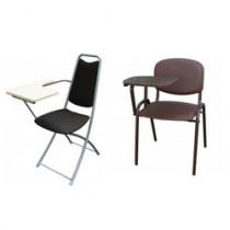 Стулья со столиками (пюпитрами) М
