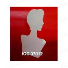 """Подставка для цепочек на 6 видов """"профиль девушки"""" (вид.1), ЮС 07012"""