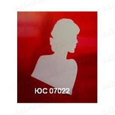 """Подставка для цепочек на 6 видов """"профиль девушки"""" (вид.2), ЮС 07022"""