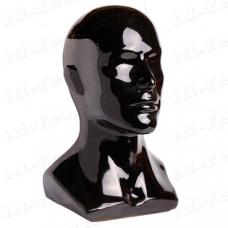 Голова мужская глянцевая (обхват 56 см), Г-402