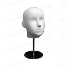 Манекен головы (женский, обхват 52 см), Head WW-224