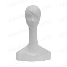 Манекен головы (женский, обхват 55,5 см), XW-04