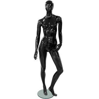 Манекен женский Glance 12 (белый/черный)