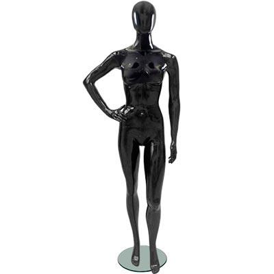 Манекен женский Glance 19 (белый/черный)