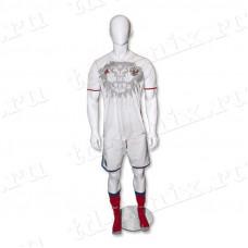 Манекен мужской спортивный (атлет), SPR.001.M.WH