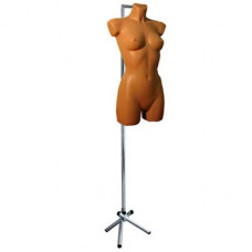 Торс на треноге (крепление манекена за шею), женский STMP-105-2