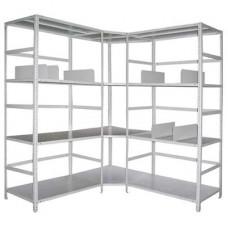 Металлические стеллажи, шкафы, сейфы